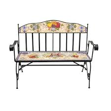 Painted Dining Chairs by Floral U0026 Vegetable Painted Dining Chair Wrought Iron Folding Chair