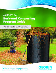 free compost kit helps municipalities launch backyard composting