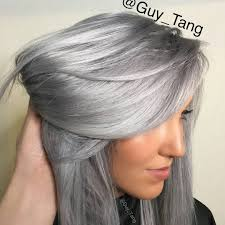 salt and pepper hair with lilac tips silver metallics guy tang favorites coming soon with kenra