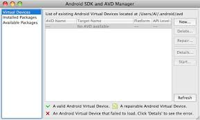 android eclipse android eclipse how to create a new android device avd