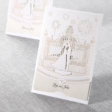fairytale wedding invitations fairy tale wedding lasercut by b wedding invitations cards