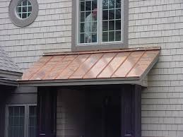 Copper Awnings For Homes Standing Seam Roofing Sheridan Sheet Metal Co