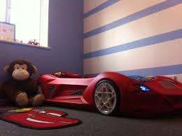 adorable design car beds for kids ideas features blue color car