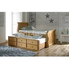 heywood solid oak guestbed frame only amazon co uk kitchen u0026 home