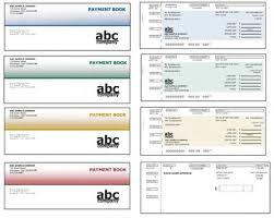 payment coupon book template