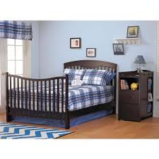 Converting Crib To Toddler Bed Manual by Sorelle Presley 4 In 1 Crib And Changer Combo White Walmart Com