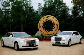 golden fast cars one off rolls royce ghost golden sunbird revealed