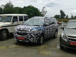mpv car 2017 chevrolet spin mpv spied coming in early 2017 motoroids