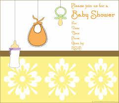baby shower invitation blank templates girls