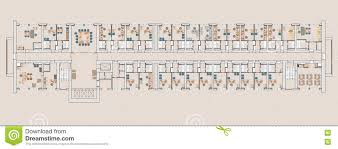 plan public buildings stock illustration image 76437443