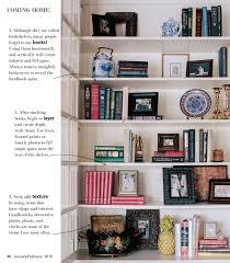 how to style a bookshelf u2013 coming home u2013 wilson living magazine