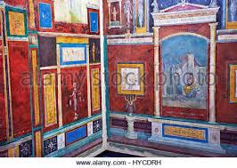 fresque chambre b fresque romaine décoration murale de chambre d de la villa farnesia