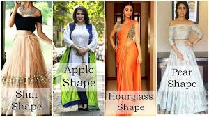 how to dress for your body shape in indian clothing youtube