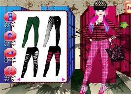 emo dress up games street fashion