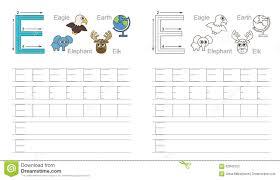 tracing worksheet for letter j stock vector image 62840197