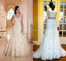 sexey wedding dresses 2016 wedding dresses with free veil by stella york v neck