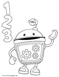 printable coloring pages team umizoomi coloring