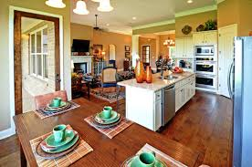 open concept floor plans kitchen and family room marissa kay