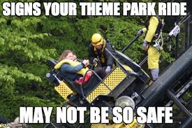 Roller Coaster Meme - meme d from the headlines roller coaster safety tips the
