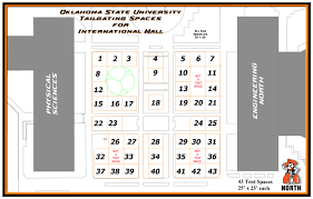Ok State Campus Map by Gameday Tailgate Meeting U0026 Conference Services