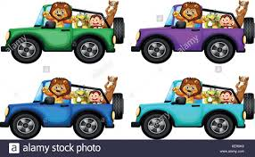 safari jeep coloring page safari jeep cut out stock images u0026 pictures alamy