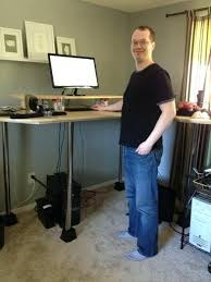 tall standing desk 4 tall standing computer desk u2013 plfixtures info