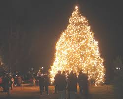 annual tree lighting ceremony in colonial williamsburg mr