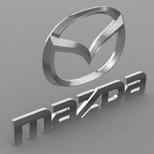 mazda emblem mazda logo model 3d model cgtrader