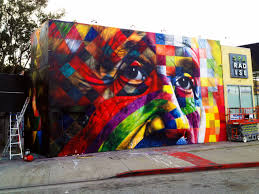 eduardo kobra mural in los angeles usa streetartnews
