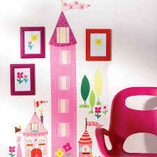 princess height chart children s wall stickers princess height chart wall sticker