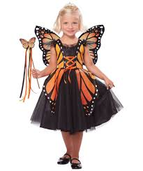Girls Halloween Costumes Kids Regal Monarch Butterfly Princess Girls Costume Girls Costumes