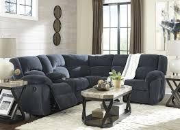 indigo leather sofa timpson indigo reclining sectional from ashley coleman furniture