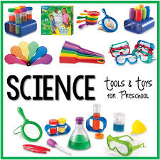 science tools and toys for preschool pre k pages