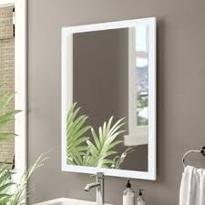 16x36 reclaimed space modern bathroom mirrors allmodern