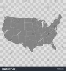 Unted States Map by United States Map Stock Vector 546685087 Shutterstock