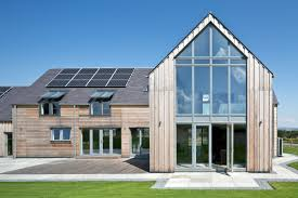 eco house design gleneagles self build home glaze architects and house