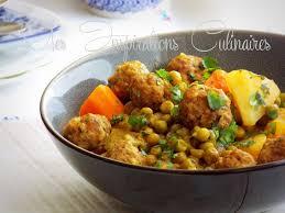 cuisiner des petit pois surgel tajine kefta aux petits pois et aux carottes le cuisine de samar