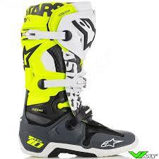 motocross boots alpinestars alpinestars tech 10 angel limited edition 2018 boots v1mx