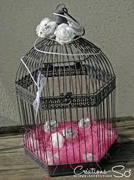 Urne Mariage Cage Oiseau by Urnes