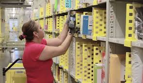 will the amazon black friday scanners the inside of amazon u0027s warehouses are a busy hive of workers and