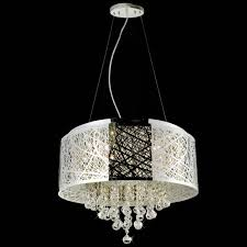 Drum Shade Chandelier Lighting Brizzo Lighting Stores 22