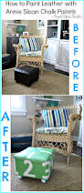 easy diy footstool update with annie sloan chalk paint fresh