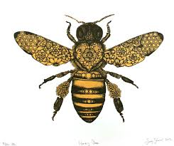 honeybee honey bee cutout clipart clipartfest clipartbarn