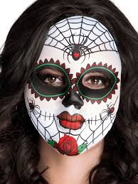 day of the dead masks mrs day of the dead mask partynutters uk