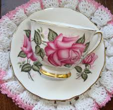 roses teacups colclough bone china made in vintage tea cup and