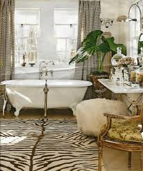 French Country Bathrooms Pictures by French Country Bath Rectangular Mirror With Thick Metal Frame