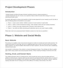 sample website design proposal template 8 free documents in pdf