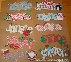 Cricut Craft Room - mimi u0027s craft room christmas name tags with cricut explore
