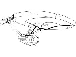 Dididou  coloriage Star Trek  page 5