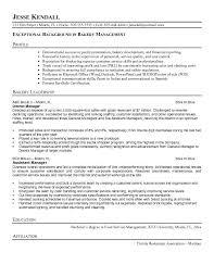 sle resume free download professional baking bakery manager resume europe tripsleep co